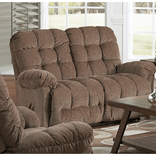 EVERLASTISNG SPACE SAVER RECLINING LOVESEAT in Cocoa    (L515RA4-20576,27674)