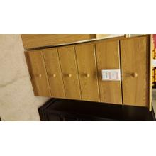 Lang Furniture 6-Drawer Oak Chest