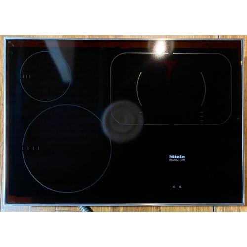 Miele - Miele KM 6360 - Induction Cooktop with PowerFlex cooking area for maximum versatility and performance.(Scratch)