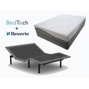 BEDTECH Tranquility Mattress & REVERIE Adjustable Power Base- KING