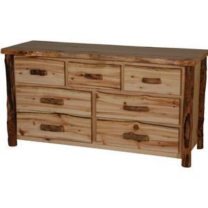 Aspen 7 Drawer Dresser