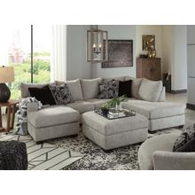 Product Image - Megginson Chaise Sectional with Storage Ottoman