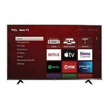 """See Details - TCL 55"""" Class 4K Ultra HD Roku Smart TV"""