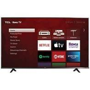 "TCL - TCL 55"" Class 4K Ultra HD Roku Smart TV"