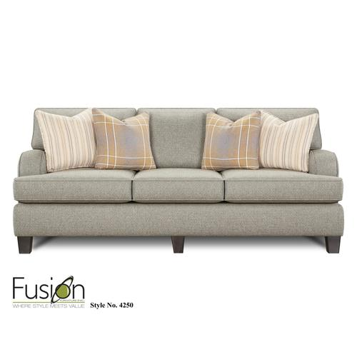 Sofa | Brewhouse Metal & Flannel Accents