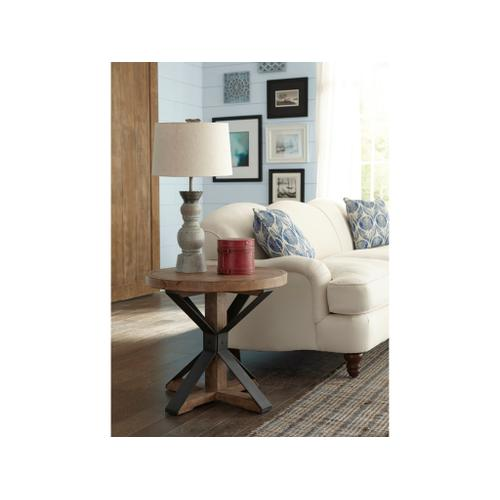 Klaussner - Coming Home End Table- Wheat
