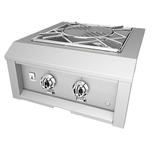 "Hestan Outdoor 24"" Power Burner NG Steeletto"