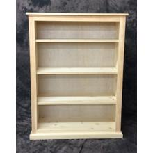 See Details - Maine Made 36X48 Bookcase 36W X 48H X 13D Pine Unfinished