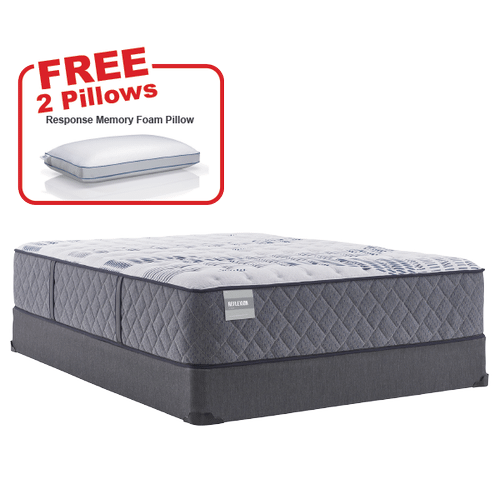 Buy the SEALY Evident Queen Mattress, Get 2 FREE Pillows!