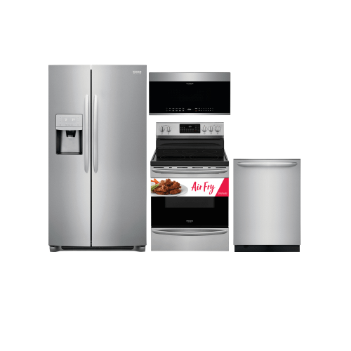 Frigidaire Gallery SxS Stainless Steel Suite