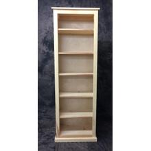 See Details - Maine Made 24X72 Bookcase 24W X 72H X 13D Pine Unfinished