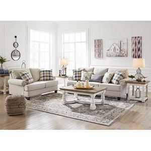 Meggett Sofa and Loveseat Set