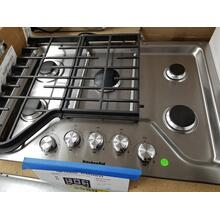 "KitchenAid 30"" Gas Cooktop KCGS350ESS (FLOOR MODEL)"