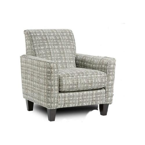 Accent Chair in Potlatch Marine Fabric