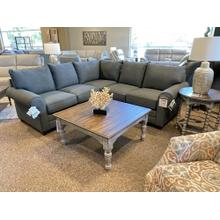 See Details - Grey Sectional 2712