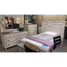 American Drew Southbury Bedroom Queen bed, Dresser, Mirror, Chest and 1 Nightstand