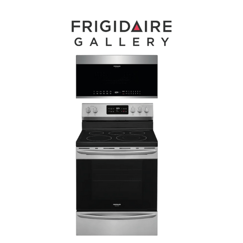 View Product - Frigidaire Gallery Electric Range & Over the Range Microwave