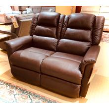 Murray Leather Reclining Loveseat in Deisel Dark Brown        (480-748-LB160277,44986