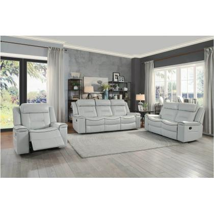 Double Lay Flat Reclining Sofa & Loveseat Set
