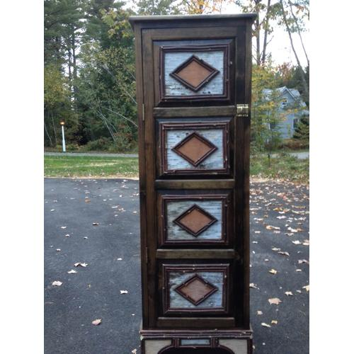 Cozy Creations Collection - Twig And Birch Jelly Cabinet