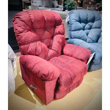 BOLT Medium ROCKER RECLINER in WINE  (7N17-19088,39816)