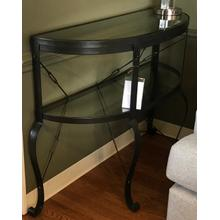 See Details - Demi lune console