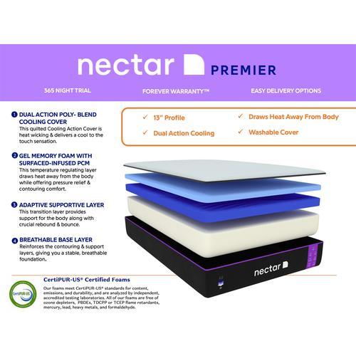 Nectar Premier - King Mattress