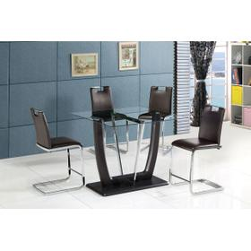 Crystal Pub Table/4 Chairs