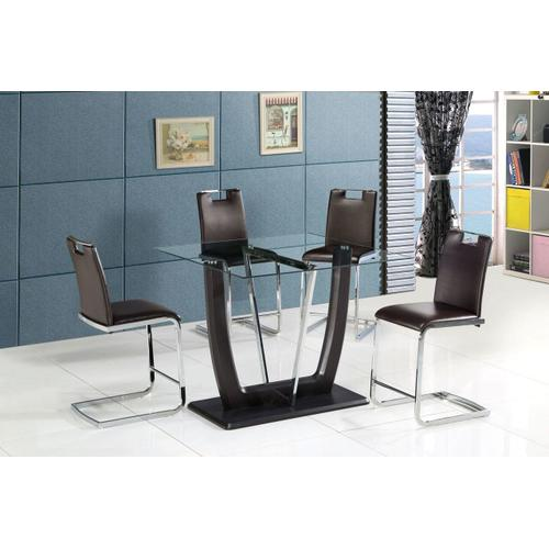 Gallery - Crystal Pub Table/4 Chairs