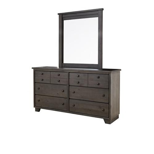 Product Image - Diego King Bed with Mirrored Dresser and Nightstand