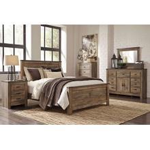 Trinell - Queen Panel Bed, Dresser, Mirror, & 1 x Nightstand