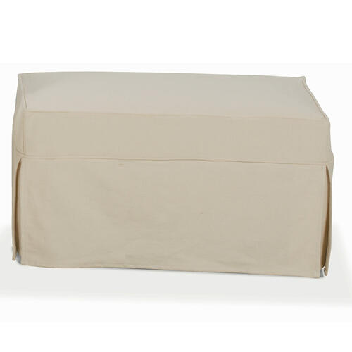 Premium Collection - Nantucket Slipcover Ottoman