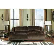 Clonmel 2 Seat Reclining Sofa - Chocolate