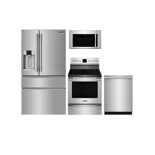 Frigidaire Professional Stainless Steel Package