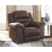 CLEARANCE Stoneland Rocker Recliner - Chocolate