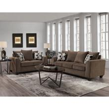 1220 Collin Espresso Sofa and Loveseat