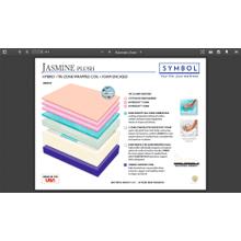 View Product - JASMINE HYBRID PLUSH QUEEN