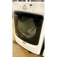 """See Details - USED- Maytag® Large Capacity Dryer with Wrinkle Prevent Option and PowerDry System """" 7.4 cu. ft. FLDRYE27W-U  SERIAL #104"""