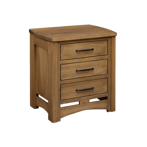 Country Classic Collection - 3 Drawer Nighstand