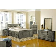 Laguna Queen Storage Bed Grey
