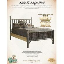 Lake & Lodge Bed