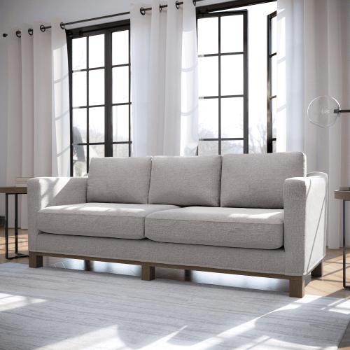 Malouf - Parkview Sofa Light Gray