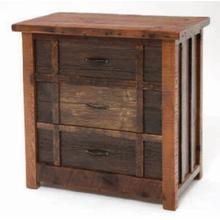 Heritage Oakridge 3 Drawer Deluxe Dresser