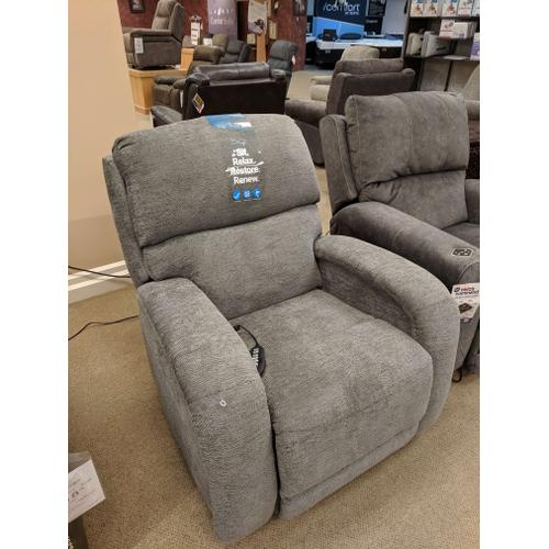POWER ROCKER RECLINER W/HEAT-MASSAGE-LUMBAR
