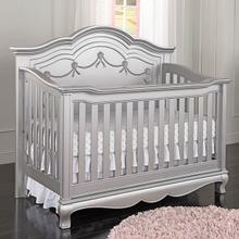 Adalina 4 in 1 Convertible Crib Metallic