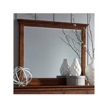 Landscape Mirror Oxford Whiskey Brown