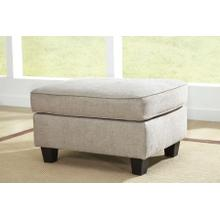 See Details - Abney Ottoman - Driftwood