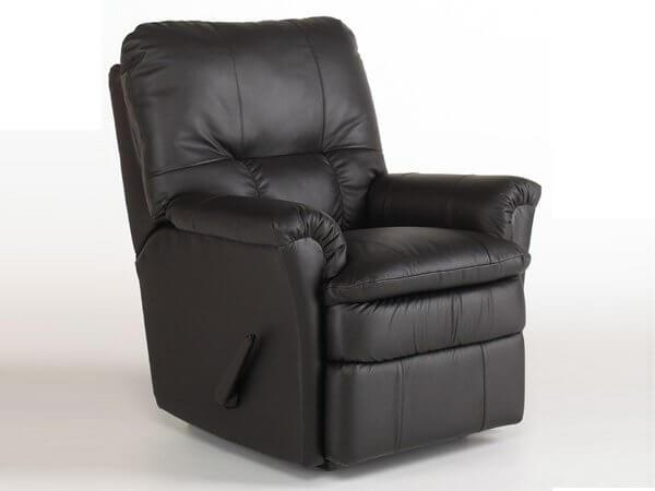 Rocker recliner with optional power, swivel orpower lift