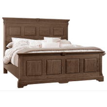 King MANSION BED WITH PLATFORM BASE