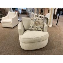 Swivel Accent Chair in Brecken 10 Fabric
